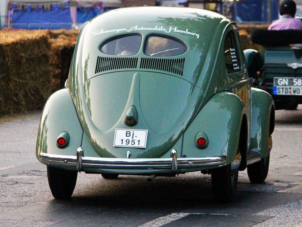 Volkswagen pretzel beetle 1951 type 11 split rear for 1951 volkswagen split window