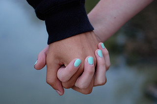 holding hands | by Kristine Leuze