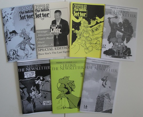 All the Cerebus the Newsletters to date | by cerebusfangirl
