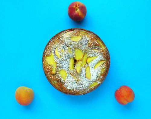 Peach Coffee Cake Recipe With Fresh Peaches