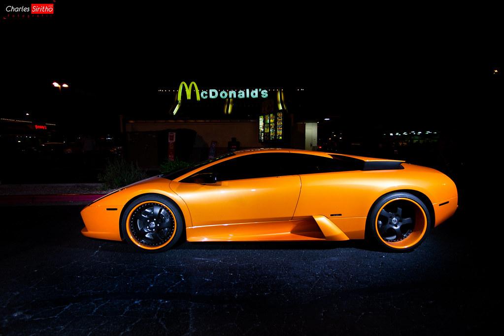 Lamborghini Murcielago Scottsdale AZ McDonalds Pavilio Flickr - Scottsdale az car show