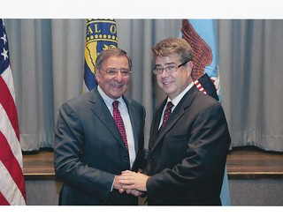 Rep. Lee Terry and Secretary of Defense Leon Panetta | by Representative Terry