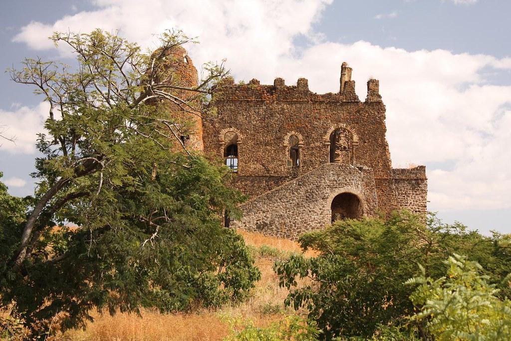 guzara castle gondar region 4 view of guzara castle