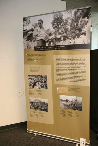 Bittersweet Harvest: The Bracero Program, 1942-1964 exhibit in Broome Library | by California State University Channel Islands