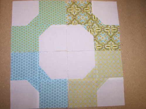 Scrappy Bow Tie Block Swap | by Around the Quilt Block