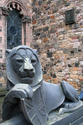 Lion in Crown Square | by firepile
