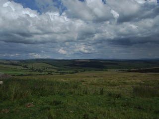 Gisburn Forest from Croasdale in the Forest of Bowland, Lancashire, England - July 2011 | by SaffyH