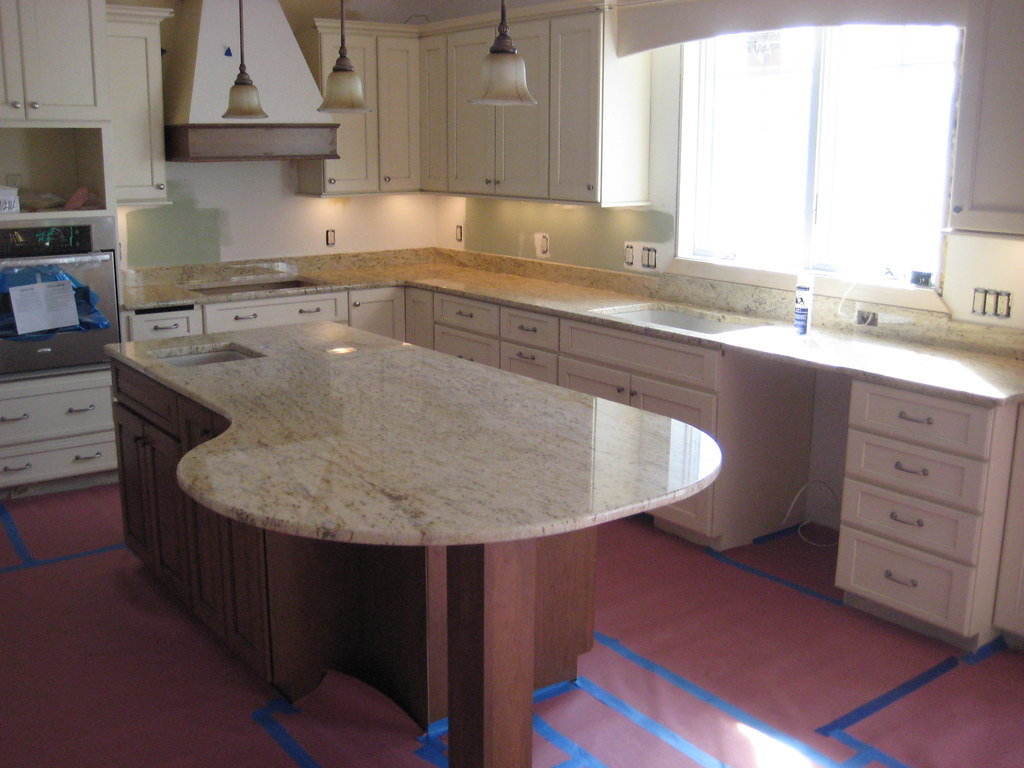 ... Inc Colonial Gold Granite | By Crafted Countertops, Inc