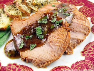 Pork Tenderloin with Maple Mustard Sauce | by CinnamonKitchn