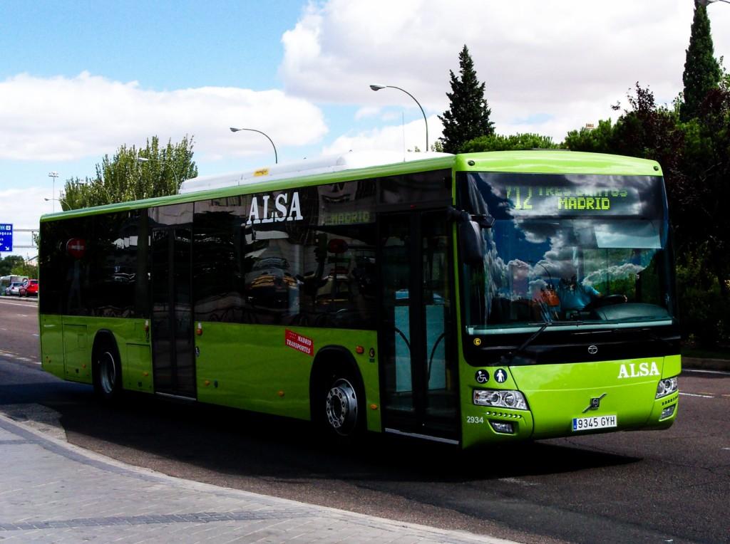 Tata Hispano Intea Le Volvo De Alsa City Madrid Tres