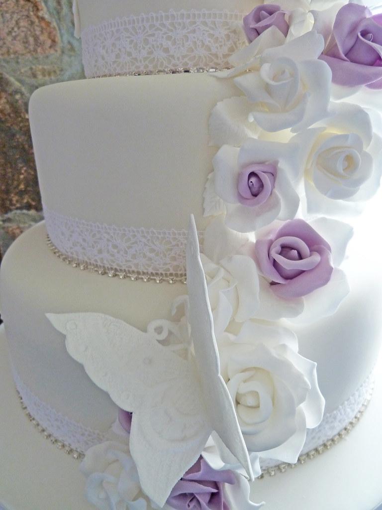 Vintage Style Wedding Cake 3 Tier Vintage Style Wedding