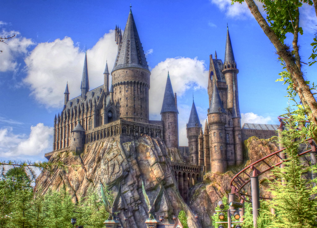 Hogwarts Castle The Wizarding World Of Harry Potter Expl Flickr
