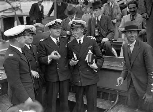 Captains A.S. Wilcockson and D.C.T. Bennett | by National Library of Ireland on The Commons