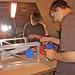 MakerMeet 8-25-11  BrianI building MyDIYCNC