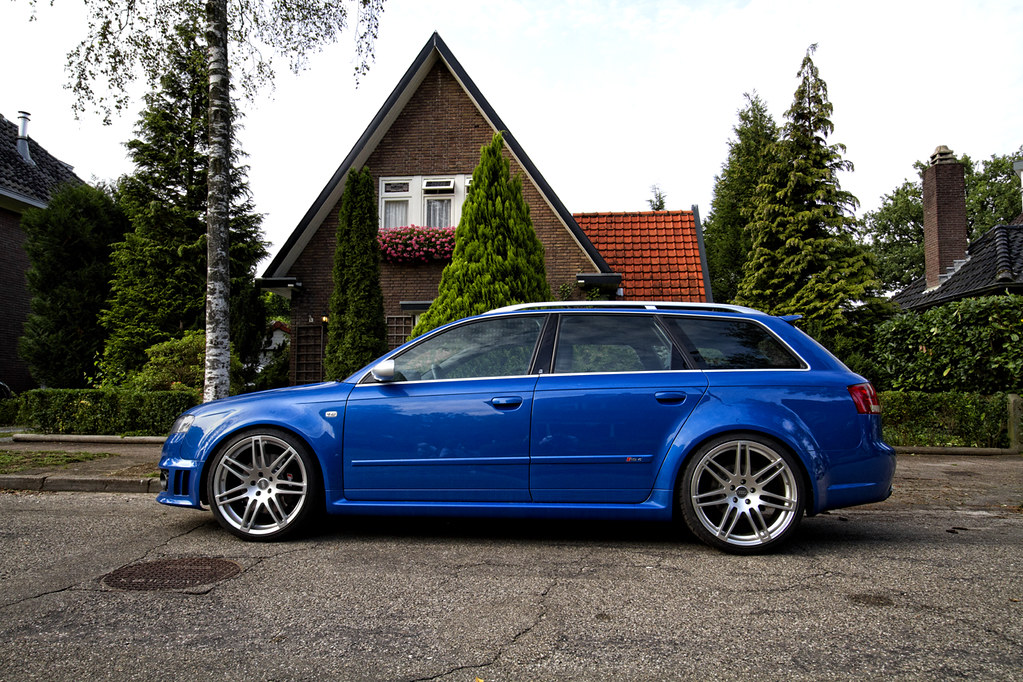 Audi Rs4 Avant B7 Great Color A S4 Rebuilded To A Rs4