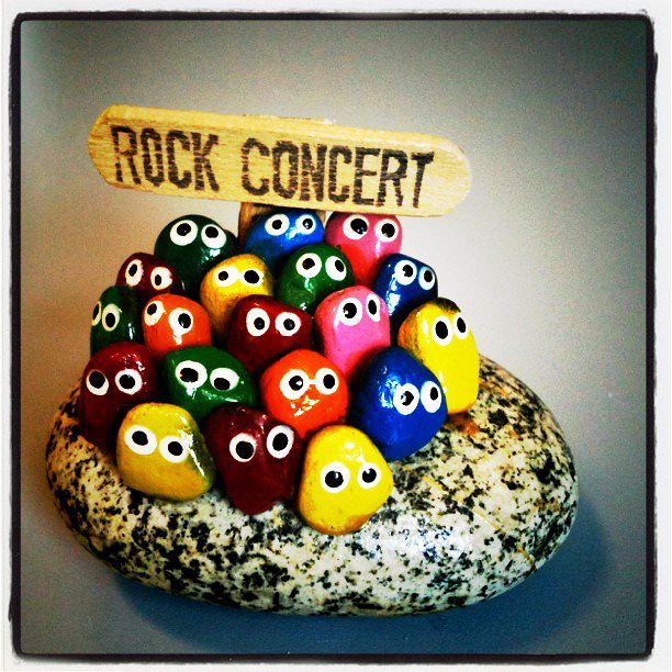 Rock Concert Office Ornament The Office Ornaments of Team Flickr