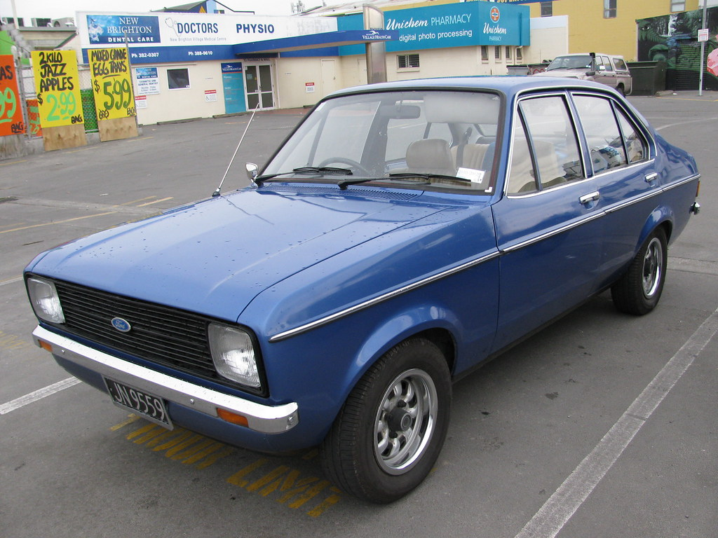 1980 Ford Escort 1 3l Jn9559 This Is A Very Clean And