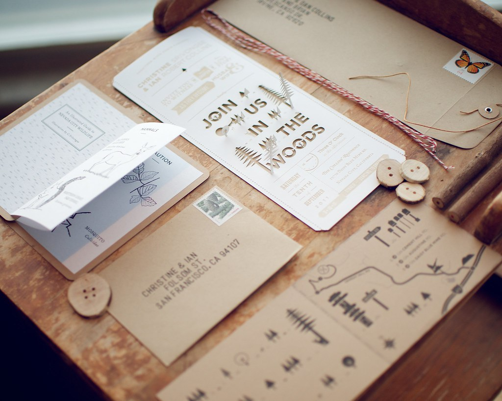 Wedding Invitation Ingredients | Envelope, Information/Front… | Flickr