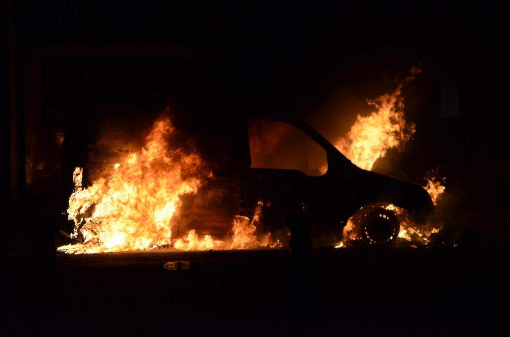 Car Fire Manchester Expressway Nov