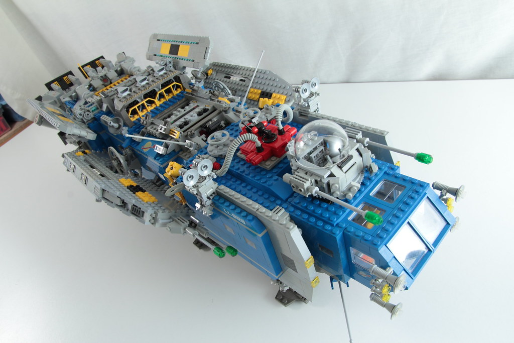 custom lego spaceship instructions