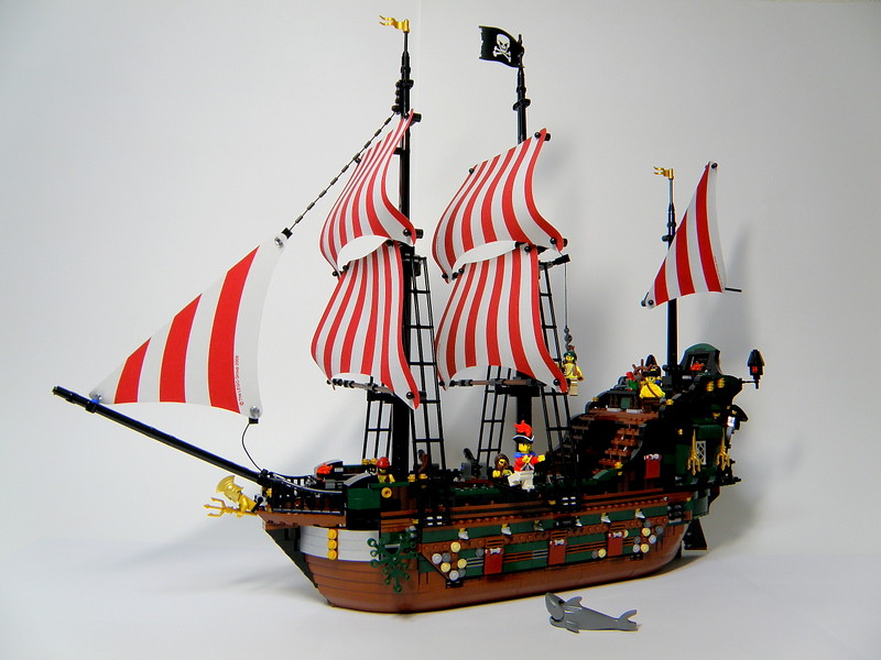 lego pirate ship poseidons wrath 0002 by jodojaudeau - Lego Pirate