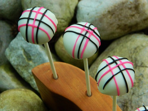 Funky Plaid Cake Pops | by Kim C. (NJ)