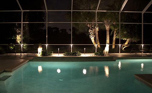 Pool Cage Outdoor Lighting Osprey Florida 1 Www