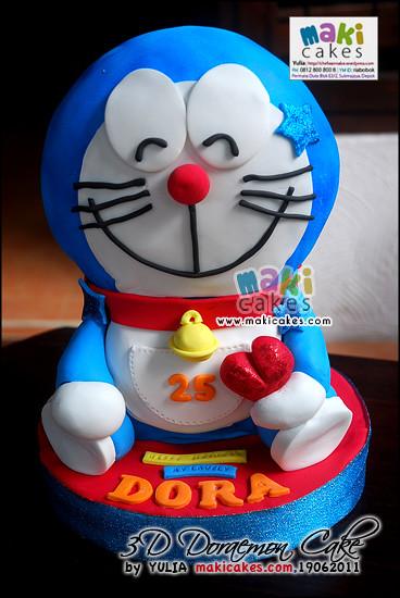 Doraemon Images For Cake : 3D Doraemon Cake_ - Maki Cakes Yulia Riani Flickr