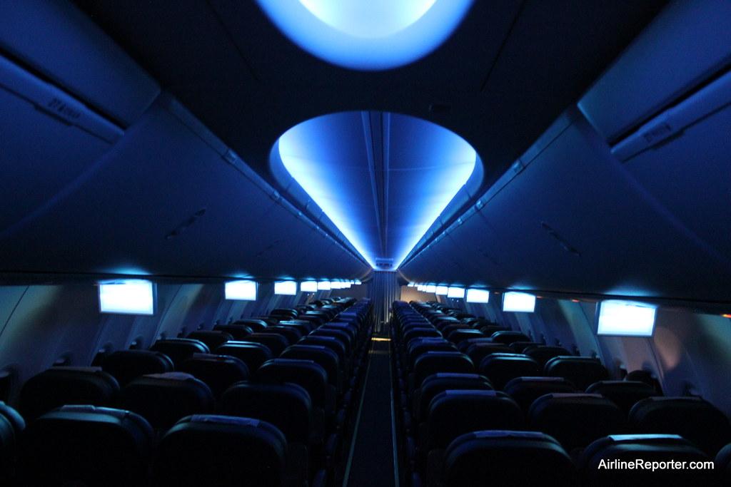 Amazing ... RwandAir Boeing 737 800 Sky Interior   By AirlineReporter.com