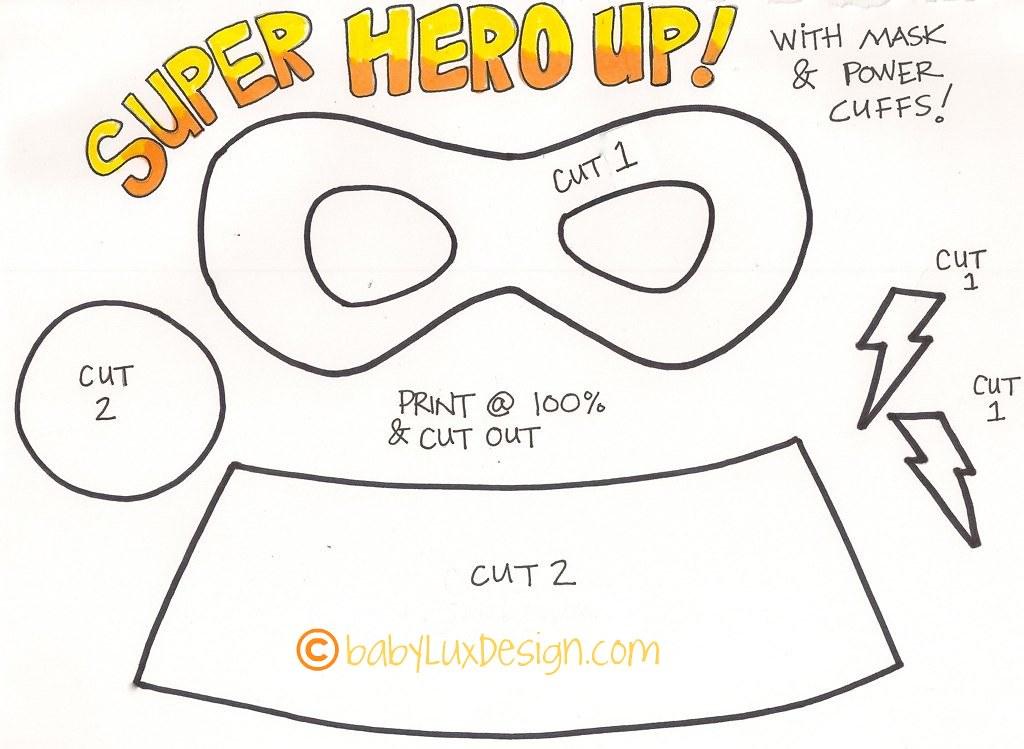 SuperHero02 | www.babyluxdesign.com kids super hero mask and… | Flickr