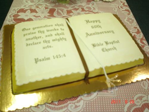 Church Anniversary Cake Images : Church Anniversary Cake Big full sheet carrot/cream ...