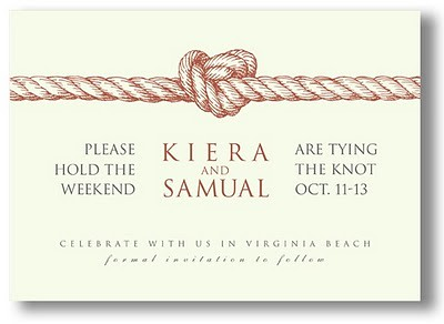 Image result for Vera Wang Knot | Save the Date flickr