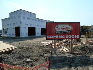 New Tim Hortons restaurant being built