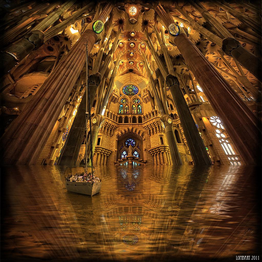 Tour inside the sagrada familia visiones particulares 2 for La sagrada familia inside