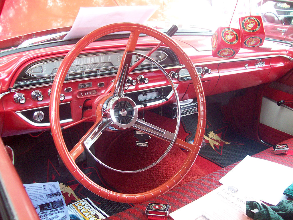 1961 Ford Galaxie Interior Interior Of 1961 Ford Galixie