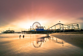 Sunset at the Pier | by California CPA