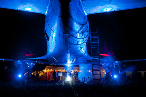 CCCamp2011 at night | by gurke