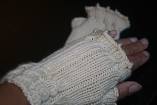 Fetching Wrist Warmers | by nightknitter