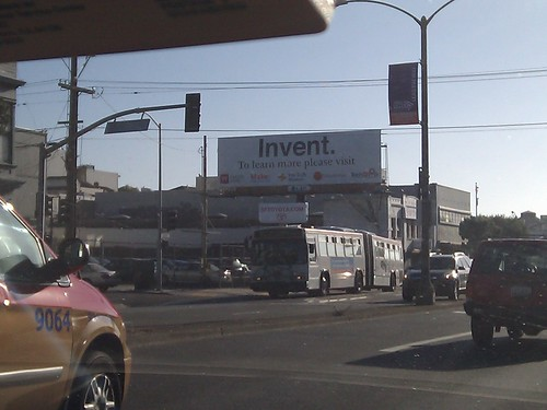 "The ""Invent"" billboard :) 