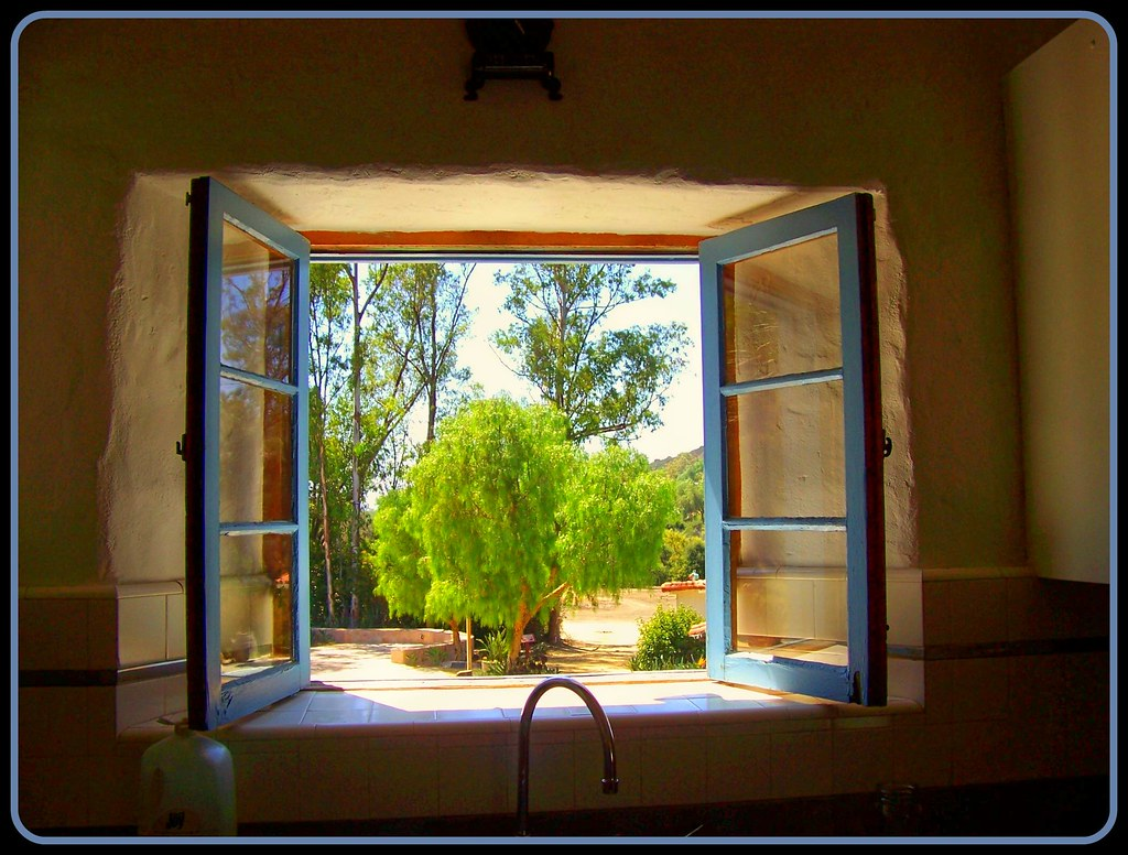 Looking out the kitchen window leo carrillo ranch carls for Looking for kitchen