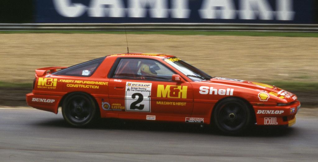 Vic Lee Toyota Supra Turbo Brands Hatch Btcc 1988 Flickr