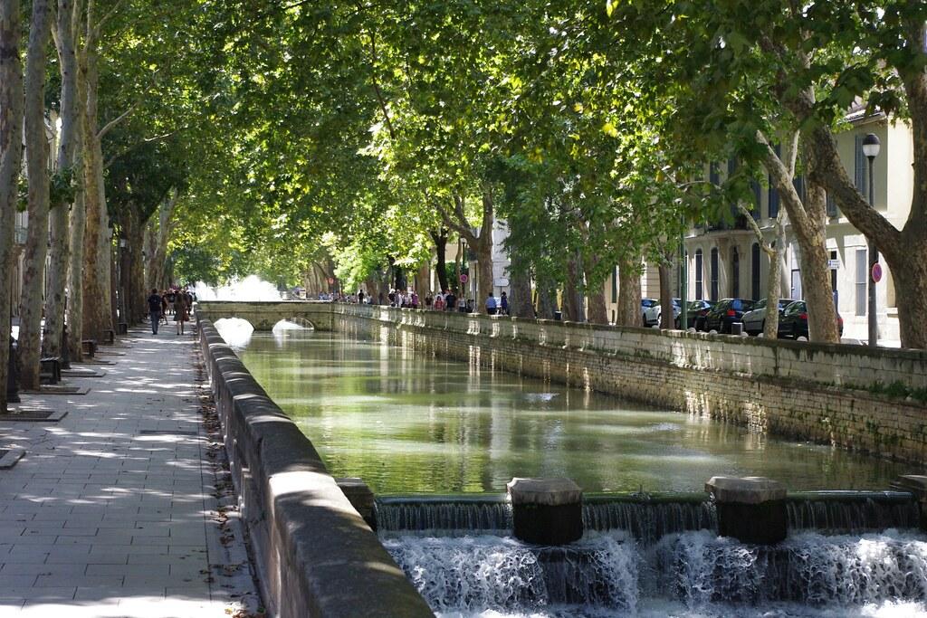 Canal du quai de la fontaine n mes spiterman flickr for Maison de la literie nimes