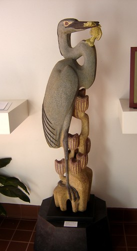 Betty Davenport Ford Blue Heron N D Gift Of The Artist