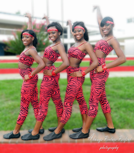 Pine Bluff High Dance Team 2011 Calender Shot For Pine
