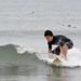 surfing a 2 inch wave