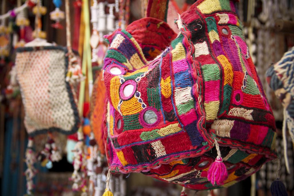 Mirror Work Bag Pushkar Rajasthan India For More