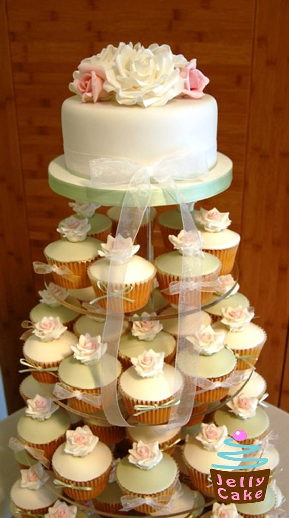 wedding cake cupcake pan wedding cupcake tower all set up at the lovely 8603