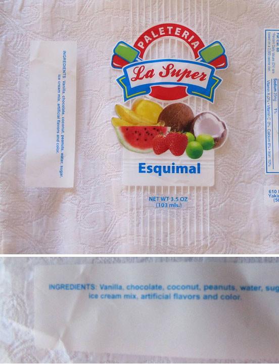 Recalled Paleteria La Super Esquimal Flavored Ice Cream Flickr