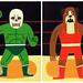 Mini Wrestlers