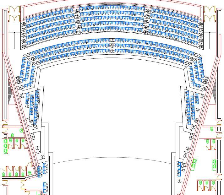 Sala sinf nica anfiteatro adda auditorio de la for Sala 8 y medio alicante